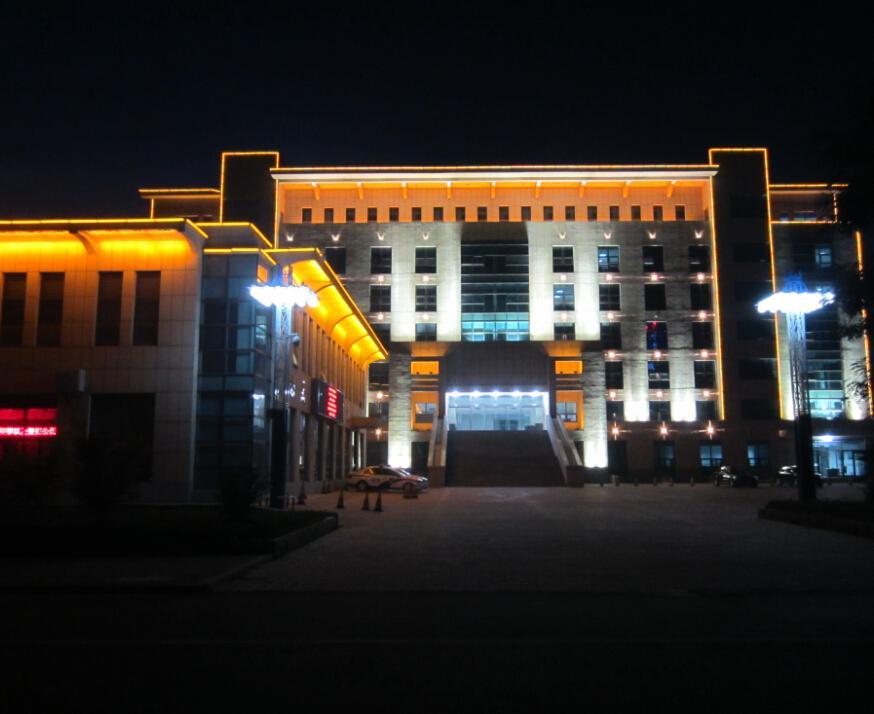 政法委办公楼LED亮化