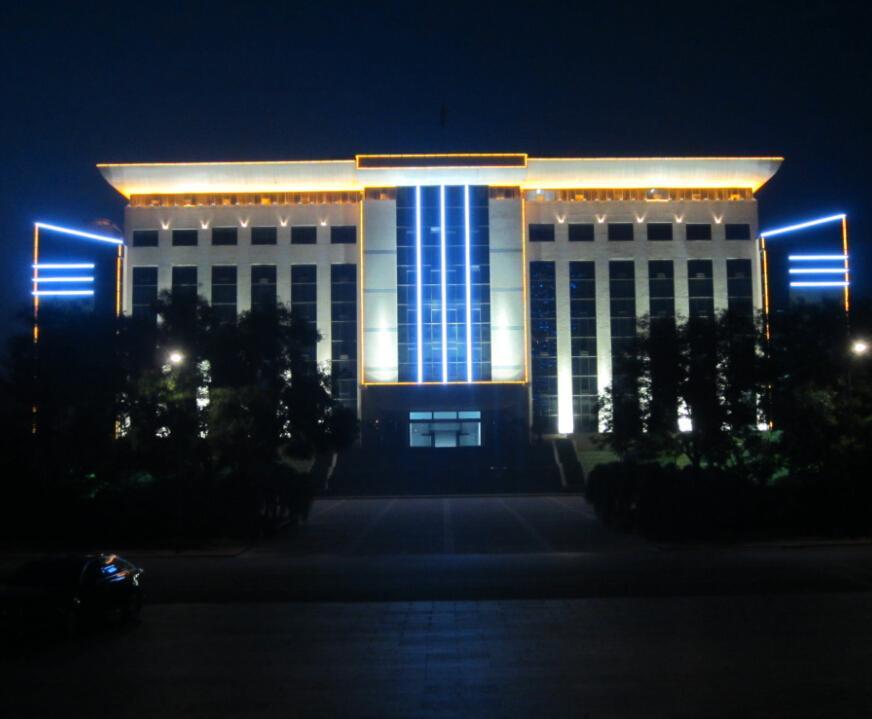 管委会办公楼LED亮化