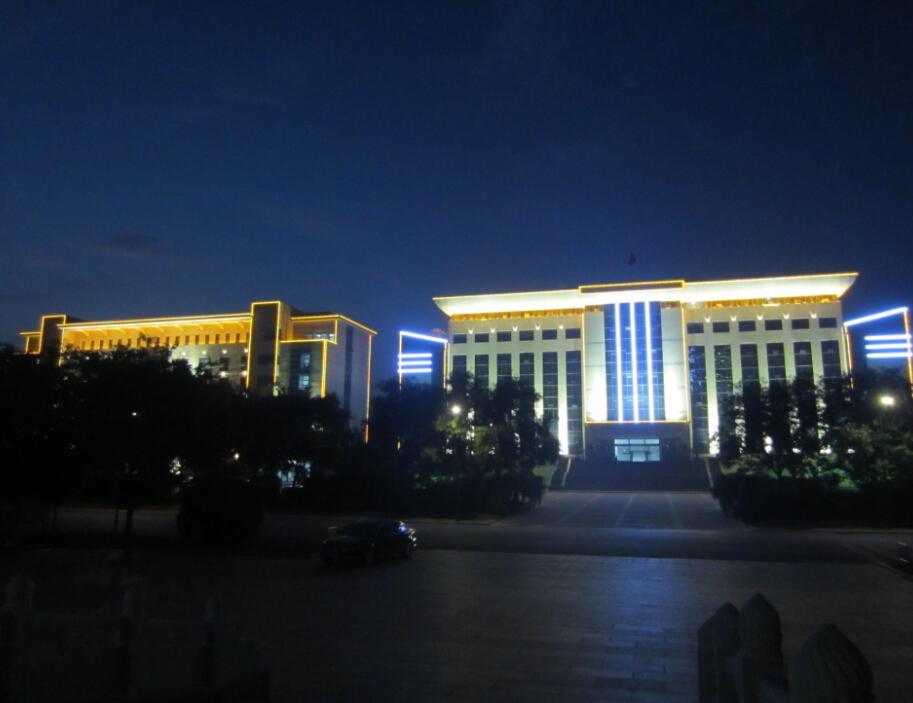 管委会、政法委办公楼LED亮化